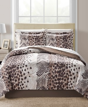 Fairfield Square Collection Congo Reversible 6-Pc. Twin Comforter Set Bedding