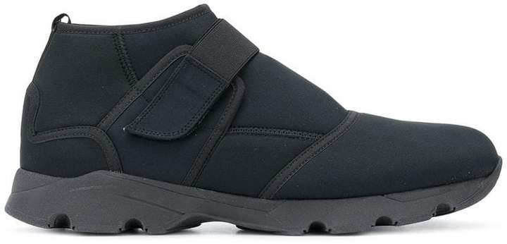 Marni Technical fabric touch strap sneakers