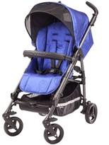 Young Versace Blue Jacquard Medusa Stroller