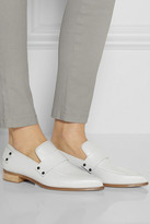 McQ by Alexander McQueen Grace leather point-toe flats