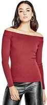 GUESS Nina Off-The-Shoulder Sweater