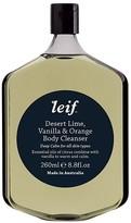 Leif Desert Lime, Vanilla & Orange Body Cleanser