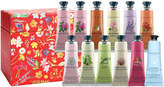 Crabtree & Evelyn Hand Therapy Gift Set - Red - 12 x 25g (Worth £96)