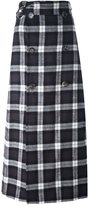 Each X Other checked skirt