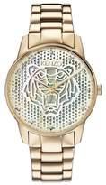 Kenzo Women's Abstract Tiger Bracelet Watch, 36mm