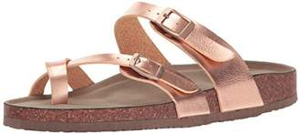 Madden-Girl Women's Bryceee Toe Ring Sandal