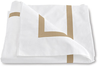 Matouk Lowell Duvet Cover - Champagne Twin