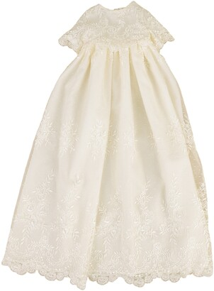 Little Things Mean a Lot Christening Gown, Shawl, Slip & Bonnet Set