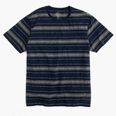 J.Crew Slub cotton T-shirt in blue multistripe