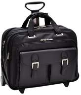 McKlein Siamod Ceresola-Napa Cashmere Leather Bag - Black