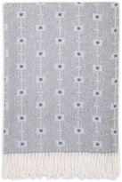 Petunia Pickle Bottom Southwest Skies Fringed Blanket in Grey/Blue
