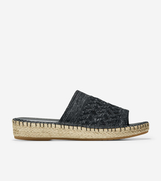 Cole Haan Cloudfeel Espadrille Slide Sandal