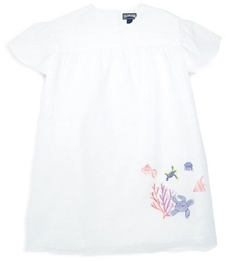 Vilebrequin Little Girl's & Girl's Glaice Coral & Turtles Cover-Up