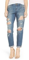 Articles of Society Women's Janis Destroyed Boyfriend Jeans
