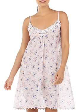 Papinelle Iggy Lace Front Floral Print Nightgown
