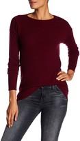 Sofia Cashmere Slouchy Rib Cashmere Sweater