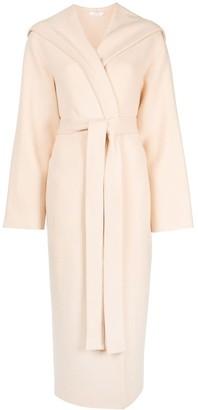 The Row Eliona hooded long coat