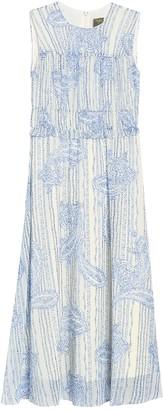 Taylor Printed Chiffon Midi Dress
