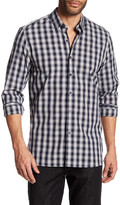 Peter Werth Faraday Plaid Trim Fit Shirt