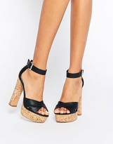 Asos Tegan Platform Heeled Sandals