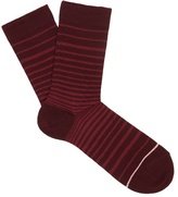 Falke Striped cotton-blend socks