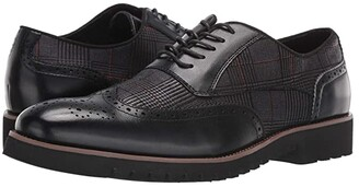 Stacy Adams Baxley Wingtip Lace Up Oxford (Black) Men's Shoes