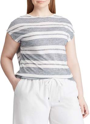 Chaps Plus Striped Jersey Tee