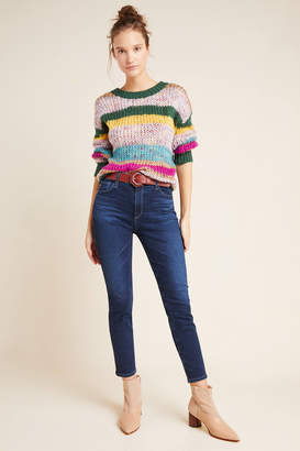 AG Jeans The Stevie High-Rise Petite Skinny Jeans