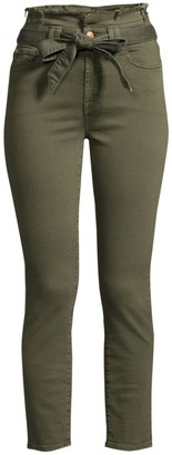 7 For All Mankind High-Rise Paperbag Waist Pants