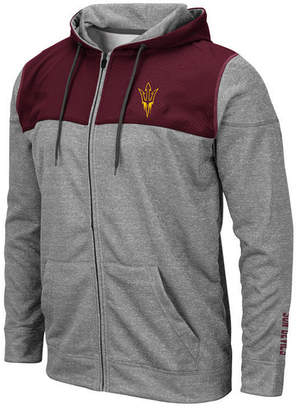 Colosseum Men Arizona State Sun Devils Nelson Full-Zip Hooded Sweatshirt