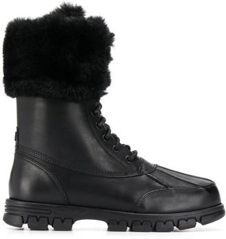 Lauren Ralph Lauren Faux Fur Detail Boots