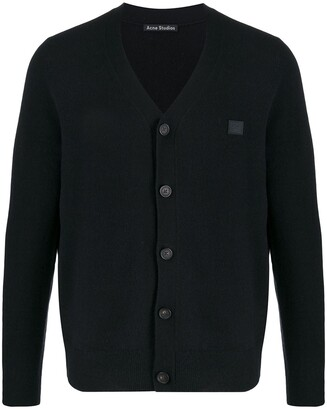 Acne Studios V-Neck Wool Cardigan