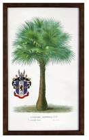 Threshold Vintage Framed Palm Tree Wall Art