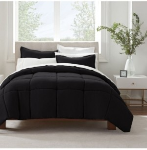 Serta Simply Clean Microbe Resistant Twin Extra Long Comforter Set, 2 Piece Bedding