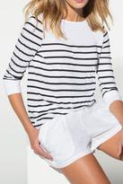 Three Dots Striped Top