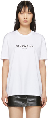Givenchy White Vintage T-Shirt