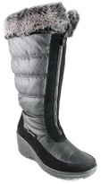 Aquatherm by Santana Canada Women's Yule Wide Calf Wedge Winter Boots - Black