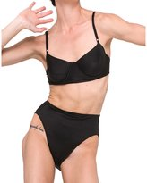 NORMA KAMALI SWIM - Underwire Bra Top - Black