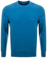 C.P. Company Crew Neck Sweatshirt Blue