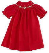 Luli & Me Bishop Dress, Red, Size 3-24 Months