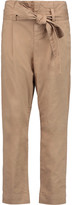 Frame Paper Bag tapered cotton-blend pants