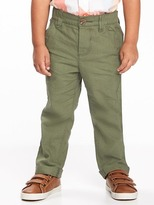 Old Navy Relaxed Linen-Blend Pants for Toddler Boys