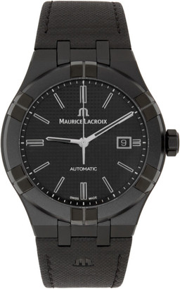 Maurice Lacroix Black Aikon Automatic Watch