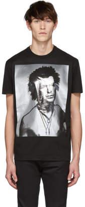 DSQUARED2 Black Disco Punk Cool Fit T-Shirt