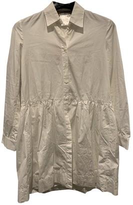 Charles Anastase White Cotton Dress for Women