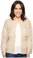 Brigitte Bailey Bryn Sweater with Fringe Detail