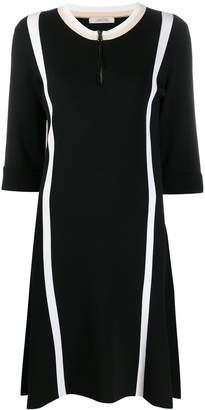 Schumacher Dorothee striped short-sleeve dress