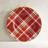 Pier 1 Imports Haddington Plaid Porcelain Salad Plate