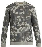 Valentino Camustars-print cotton-blend jersey sweatshirt