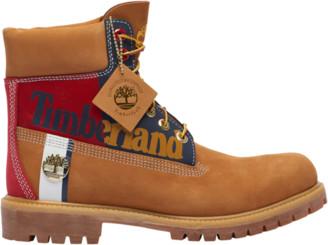 "Timberland 6"" Premium Waterproof Boots Outdoor Boots - Wheat Nubuck"